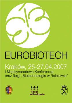 Konferencja i Targi EUROBIOTECH 2007