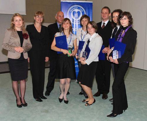 Laureaci konkursu prac naukowych Fundacji Hasco-Lek