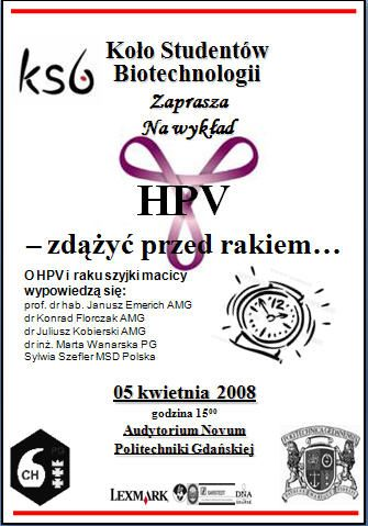 HPV - zdążyć przed rakiem