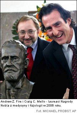 Laureaci Nagrody Nobla z medycyny i fizjologii 2006