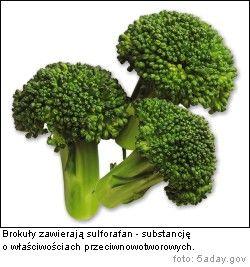 Brokuły sulforafan