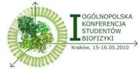 I Ogólnopolska Konferencja Studentów Biofizyki